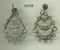 Chandelier Filigree Earring Findings