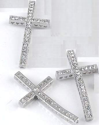 curved cross beads