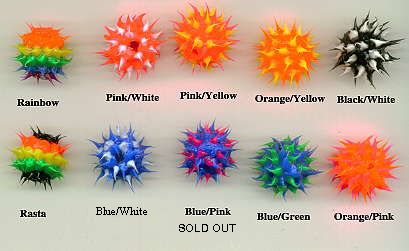 Silicone Spikey Beads
